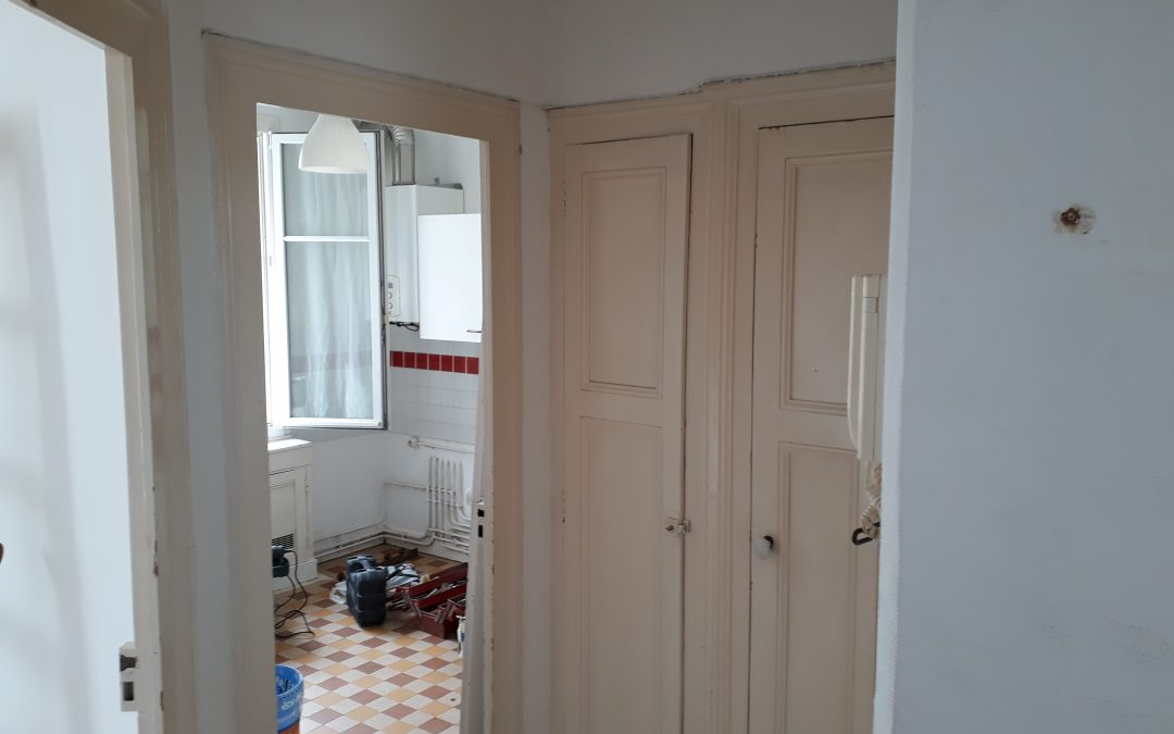 renovation appartement 40m2