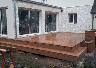 ATB NIVARD - pose terrasse